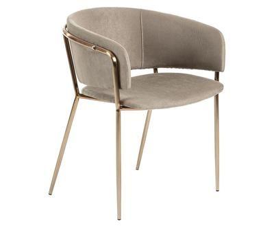 Samt Armlehnstuhl Runnie Stuhl Design Stuhle Armlehnen