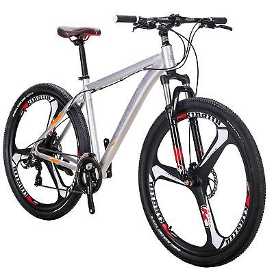Details About 29 Aluminium Mountain Bike Disc Brakes Mens Bikes