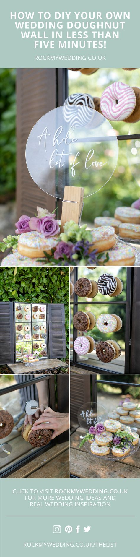 Doughnut Wall: How To DIY in Less Than 5 Minutes