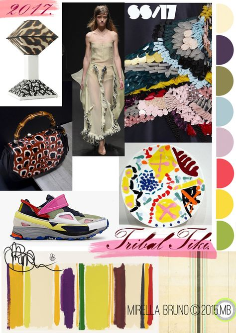 FASHION VIGNETTE: TRENDS // MIRELLA BRUNO - PRINT/GRAPHIC/COLOR INSPIRATIONS . SS 2017