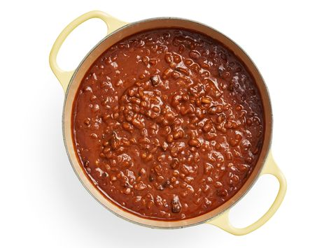 Recipe of the Day: The Best Baked Beans | Bacon, molasses and bourbon add depth and flavor to our classic recipe — and the best part of all? The beans require no soaking! They get tender and delicious right in the oven.