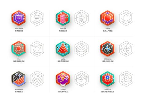 徽章体系的思考&设计语境的边界探索