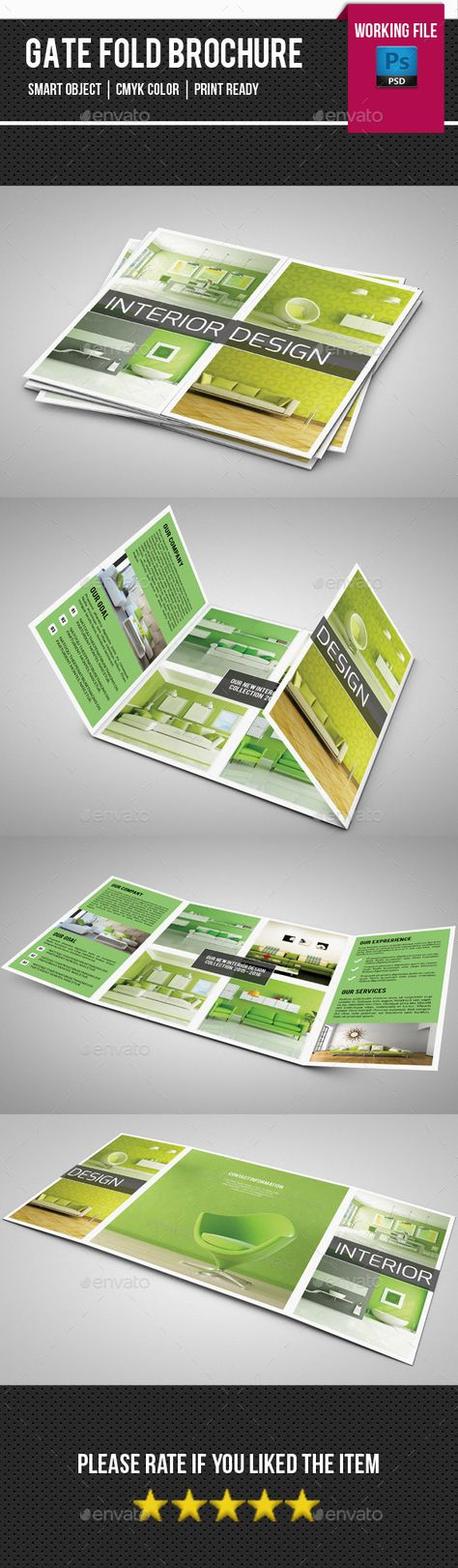 This blank brochure design can be quite ideal for use in your - blank brochure
