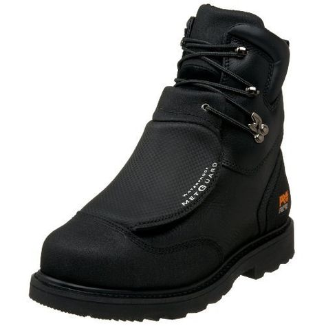 Timberland PRO Mens 53530 8 Metguard Steel-Toe Boot. For work man in you!