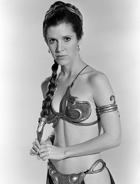carrie fisher return of the jedi -