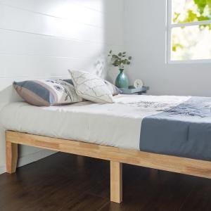 Zinus Moiz 14 In Wood Platform Bed King Hd Rwpb 14k Wood