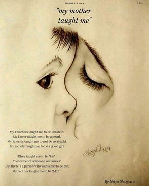 My mother taught me... - Nitya Shaiyara