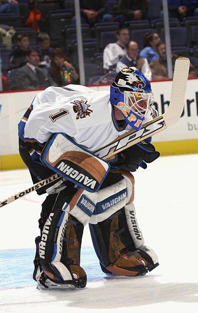 Craig Billington Hockey Goalie Washington Capitals Goalie