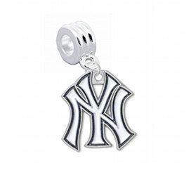 pandora charm new york yankees