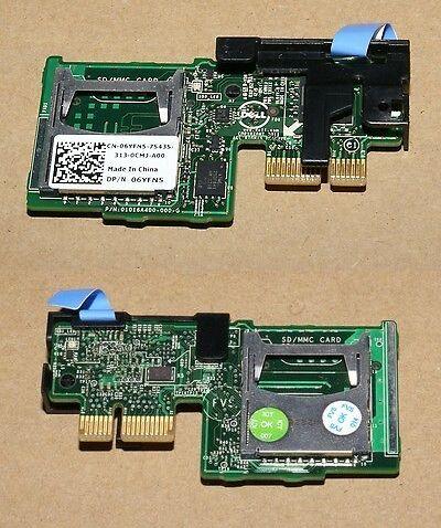 OEM DELL DUAL SD FLASH CARD READER MODULE POWEREDGE R430 R530 R630 R730 PMR79