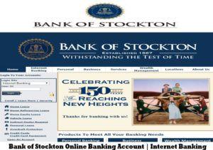 Bank Of Stockton Online Banking Account Online Banking Banking Google Hangouts