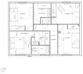 Modèle De Maison Adela Proposé Par Maisons LARA. Retrouvez Tous Les Types  De Maison à Vendre En France Sur Www.construiresamaison.com U003eu003eu003e | Pinterest  | Type ...