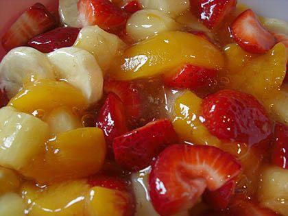 Family Favorite Fruit Salad Fruit Salad Easy Fruit Recipes Peach Pie Filling
