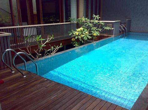 desain rumah ada kolam renang ; | kolam, desain