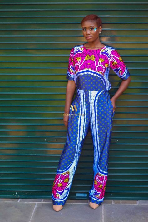a20619462a0 Latest Ankara Fashion  100+ Super Stylish   Glam Ankara Jumpsuits Styles  For The Perfect