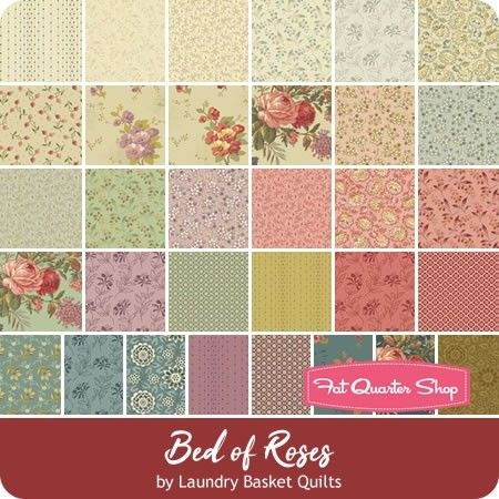 Bed Of Roses 10 Squares Reservation Br Laundry Basket Quilts For