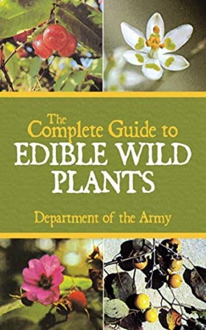 The Complete Guide To Edible Wild Plants Cover Edible Wild