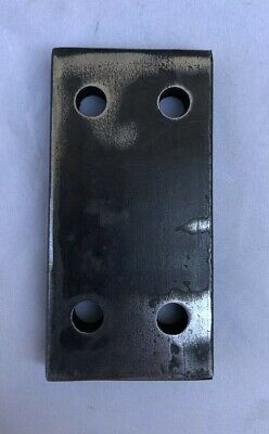Steel Flat Bar Bracket Spacer 2 X 4 1 2 Thick W 4 3 8 Holes Ebay Bracket Custom Cars Custom