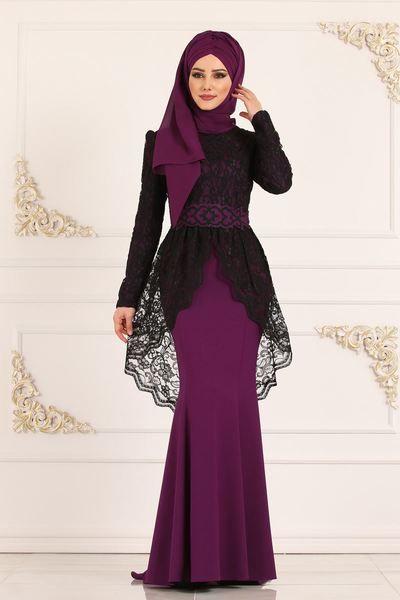 Modaselvim Abiye Dantelli Balik Abiye Asm2136 Murdum Soiree Dress Hijab Dress Party Fashion Dresses