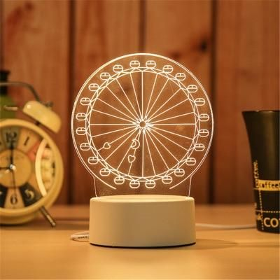 Brand Name Timelikeis Bulbs Included Yesbattery Type Lithium Ionpower Source Dcis Batteries Required Nousa In 2020 3d Led Night Light 3d Led Lamp Night Light Lamp
