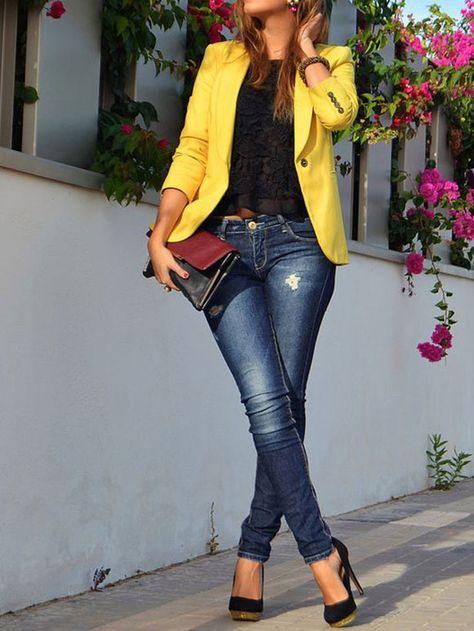 Fashion Fix: Gele blazer - My Simply Special