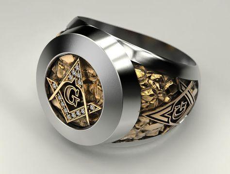 90 Best Masonic rings images | Masonic ring, Masonic