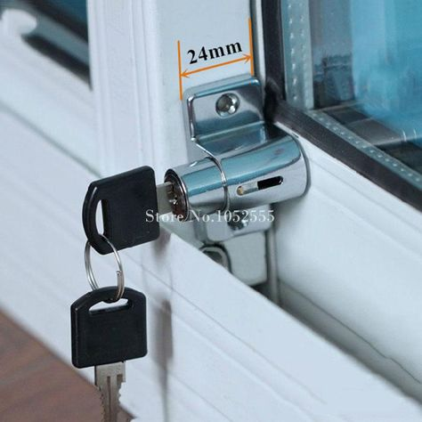 Hot Window Shield Sliding Aluminum Steel Sliding Doors And Windows Security Lock Children Safety Lock Anti The Security Locks Sliding Doors Safe Home Security