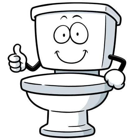 Image Title Cartoon Toilet Illustration Toilet Cartoon