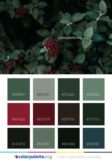 2020 Christmas Color Palette Exterior House Colors Green Colour Palettes 65 New Ideas in 2020
