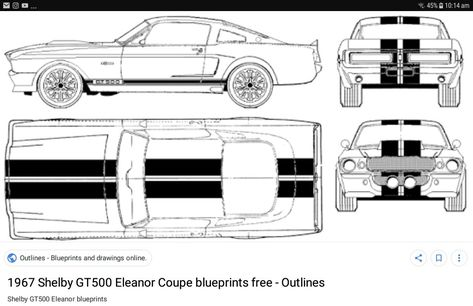 Ealanor Shelby Gt500 Mustang Cars 1967 Shelby Gt500