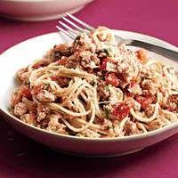 spicy turkey spaghetti, yummy