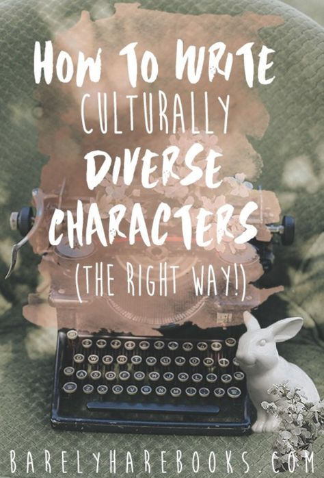 Create Culturally Diverse Characters: