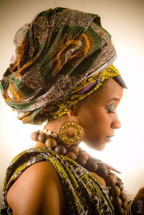 Beautiful headwrap