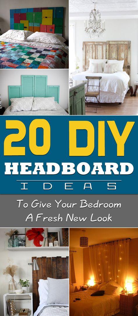 108 Besten Headboard Ideas Bilder Auf Pinterest | Betten, Rund Ums Haus Und  Schlafzimmer Ideen