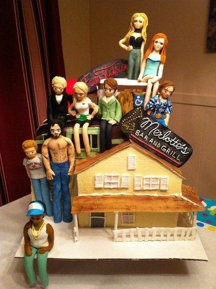 True Blood CakeYUMMMMM Birthday Cake Pinterest True blood