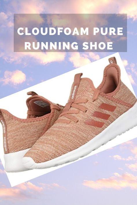 These adidas running-inspired shoes feature a foot-hugging knit upper and a female-friendly fit. Soft midsole cushioning, Super light, super comfortable and good support! #runningshoes #adidasrunning #sneakers