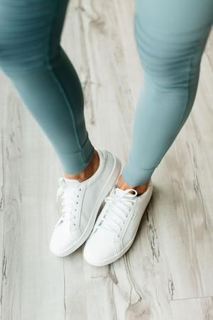 Ace Leather Sneakers White – White