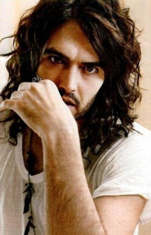Russell Brand....I do not care what anyone says.  Russell you make a girl swoon