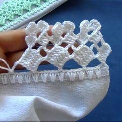 Crochet Table Runner Pattern, Crochet Snowflake Pattern, Crochet Edging Patterns, Crochet Flower Tutorial, Crochet Lace Edging, Crochet Fabric, Crochet Diagram, Filet Crochet, Crochet Crafts