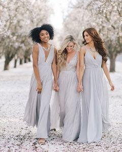 Smokey Lavender Grey Bridesmaid Dresses Cute Bridesmaid Dresses Lavender Dresses Bridesmaid Style
