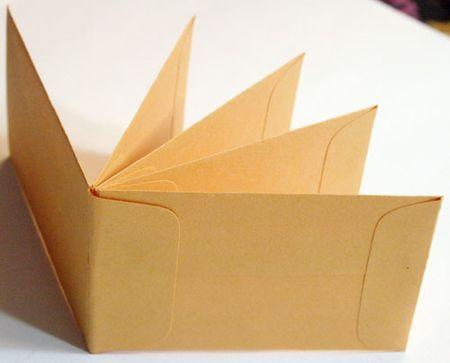 Envelope mini book