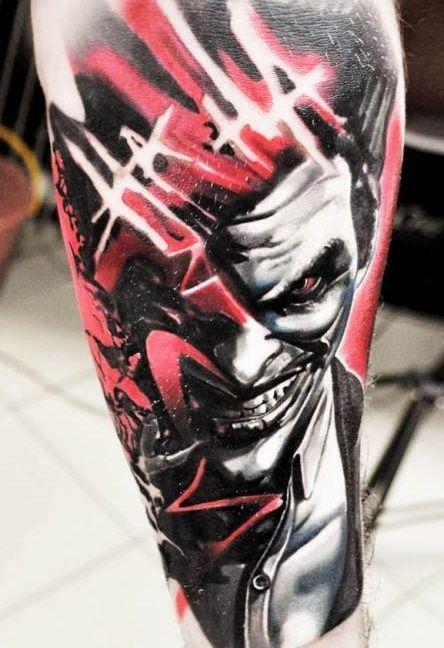 Joker Tattoo Flash Art Page 2 Line 17qq Com 6