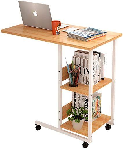 Ztbxq Home Improvement Furniture Design Simple Laptop Table Creative Corner Table Mobile Bedside Table Mini Sof Simple Desk Portable Desk Folding Laptop Table