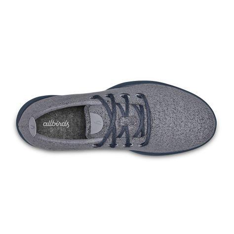 Merino Wool Sneakers, Dark Grey, Size