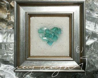Cristal de hoja perenne árbol de cristal por BeachMemoriesByJools