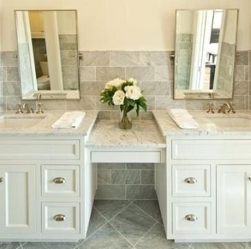 61 Ideas Makeup Vanity Design Bathroom Bathroom Vanity Designs Double Vanity Bathroom Vanity Backsplash