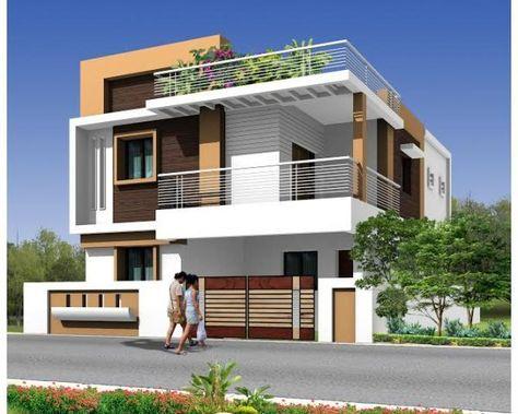 Modern Duplex House Google Search Small House Elevation Small House Elevation Design Duplex House Design