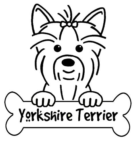 Cool Sign For Above Food Bowls Yorkshire Terrier Boyama Sayfalari Teriyer