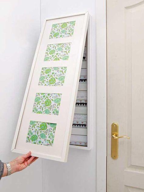 Micasa Revista De Decoración Ideas Y Trucos Para Decorar Tu Casa Electric Box Diy Wallpaper Hallway Decorating