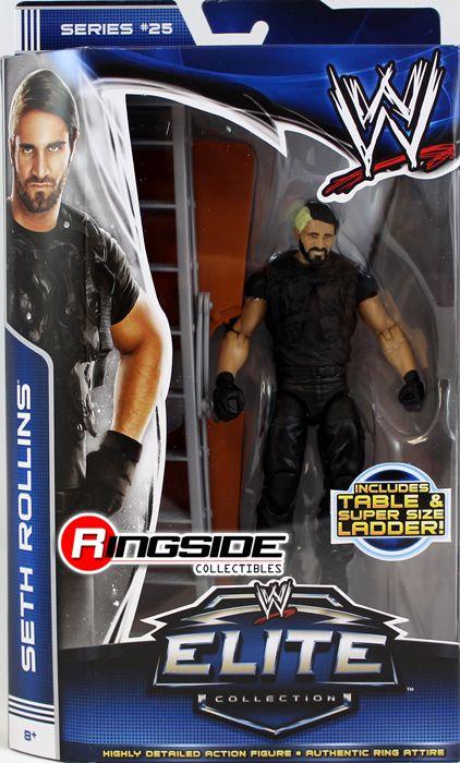 RARE WWE brodus CLAY MATTEL Elite Collezione Serie 25 WRESTLING FIGURE